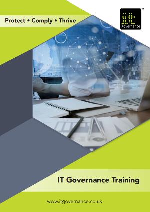 IT Governance Training brochure