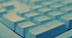 Edge of Keyboard