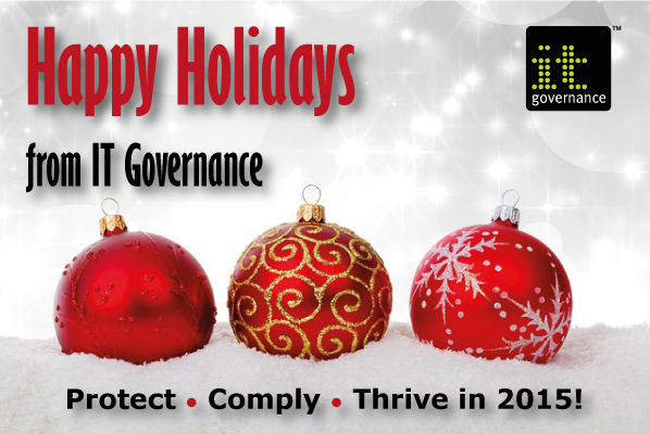Happy Holidays from IT Governance