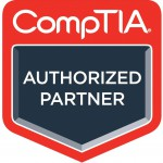 CompTIA Authorized Partner for Training Delivery logo