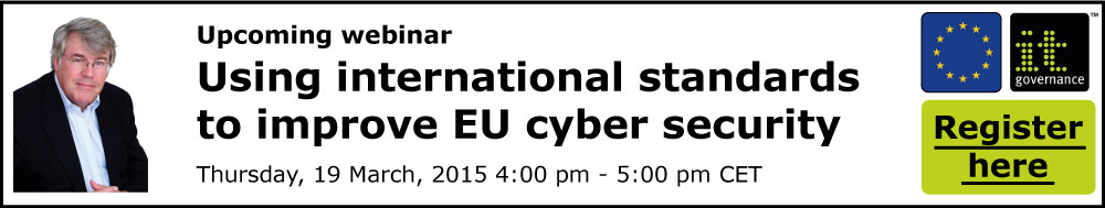 Using international standards to improve EU cyber security