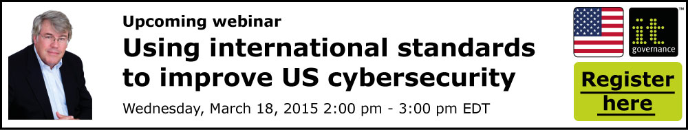Using international standards to improve US cyber security
