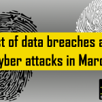List of data breaches and cyber attacks in March