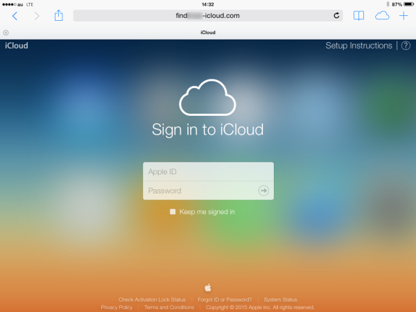 find my iphone login lost your iphone don t give away your icloud credentials 1089