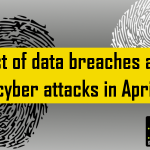 List of data breaches and cyber attacks in April