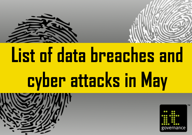 List of data breaches and cyber attacks in May 2019 – 1 39