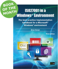 Book of the Month: ISO 27001 in a Windows Environment