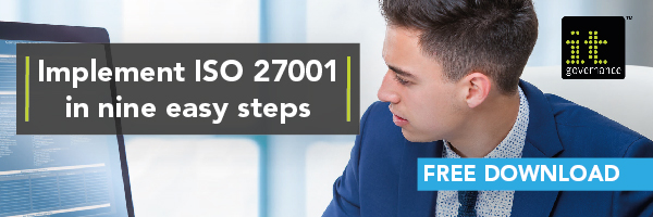 Implement ISO 27001 in nine easy steps - banner v1.2-blog