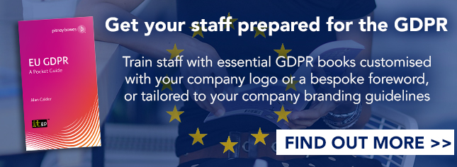 GDPR Staff Awareness Training - Branded Customised GDPR Books