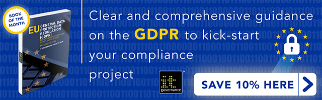 Clear and comprehensive guidance on the GDPR to kick-start your compliance project. Save 10% here >>