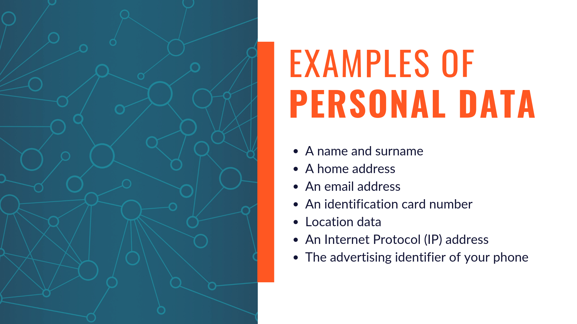 gdpr sensitive personal data examples