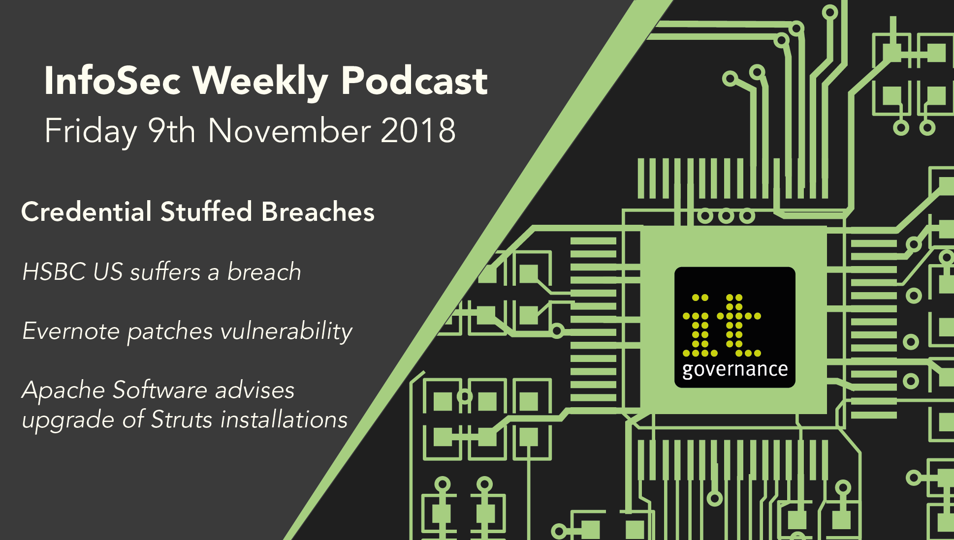 Weekly podcast: HSBC, Evernote and Apache Struts - IT