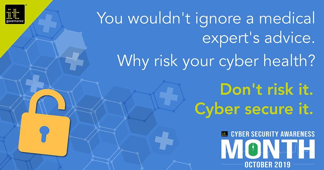 Don't risk it. Cyber secure it.