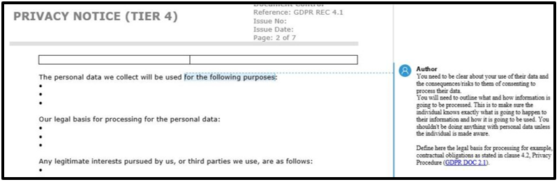 How To Write A Gdpr Data Privacy Notice Free Template
