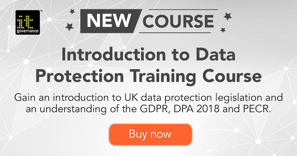 Introduction to Data protection course