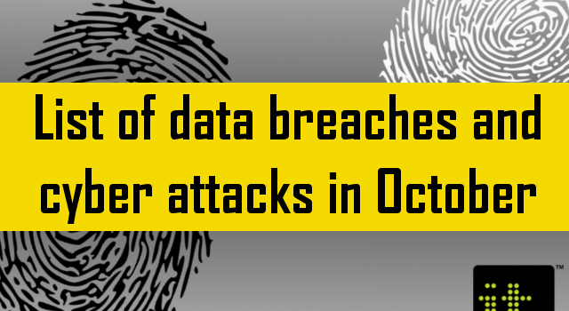 list of data breaches october