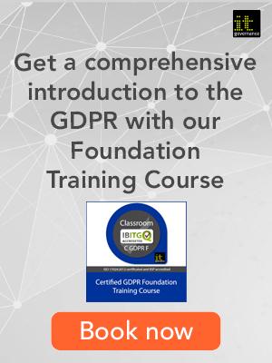 GDPR foundation training
