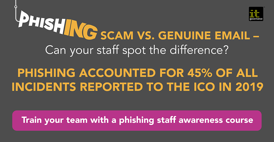 Train your team with a phishing staff awareness course