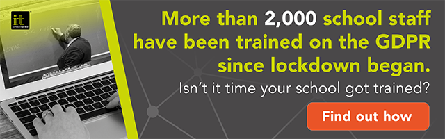 More than 2,000 school staff have been trained on the GDPR since lockdown; isn't it time your school got trained?