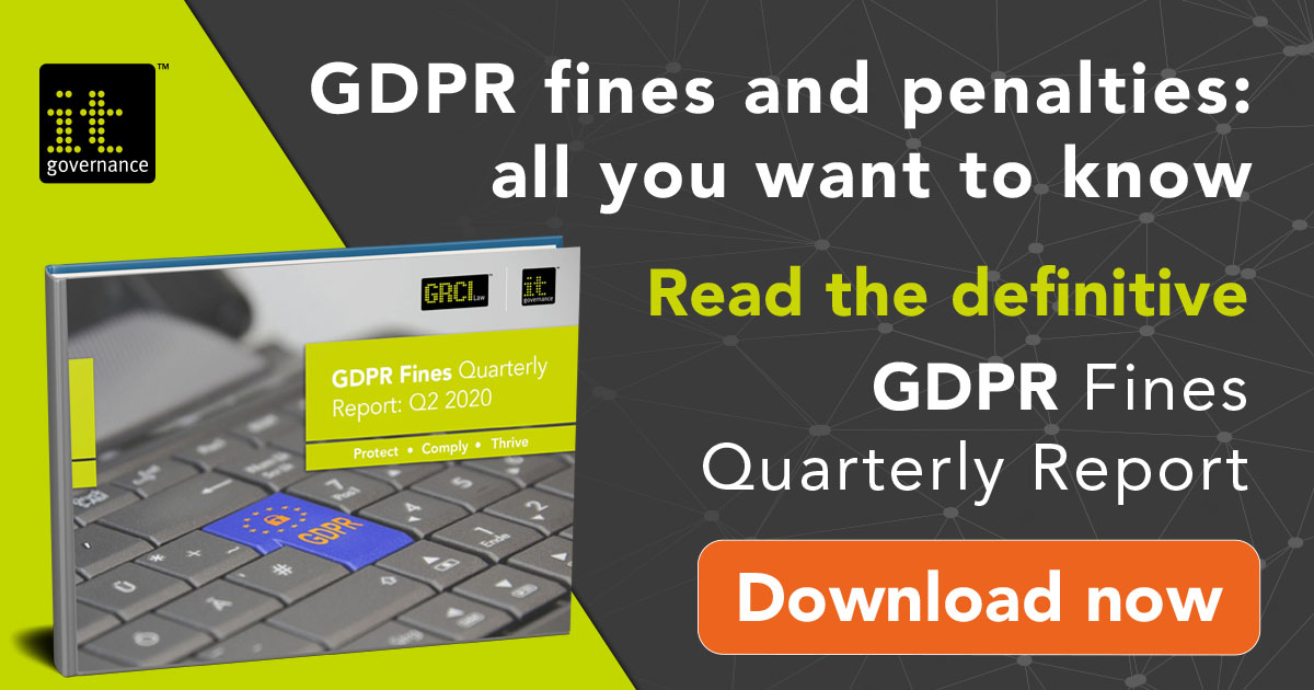 Read the definitive GDPR fines quarterly report