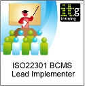 ISO22301 BCMS Lead Implementer