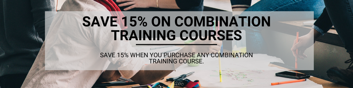 Sae 15% when you purchase any combination training course