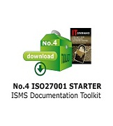 No 4 ISO27001 Complete ISMS Documentation Toolkit