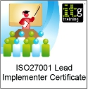 ISO27001 Certified ISMS Lead