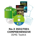 No 3 ISO27001 Comprehenisve ISO27001 ISMS Toolkit