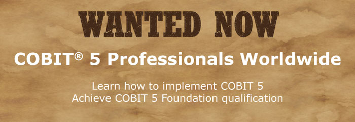 Wanted - COBIT 5 professionals Worldwide