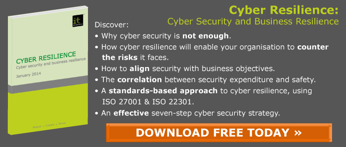 Cyber Resilience Green Paper