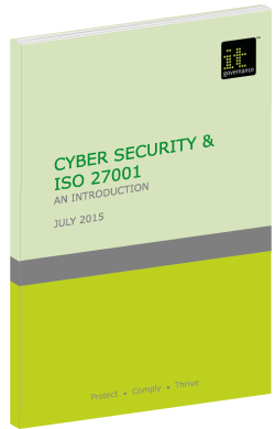 Cyber Security and ISO 27001