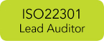 ISO22301 Lead Auditorr