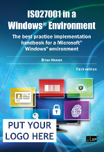 Iso27001 in a windows environment fancy seeing your logo on this book fandeluxe Choice Image