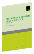 Information Security Qualifications: Fact Sheet