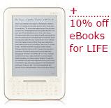 iRiver + 10% Off ebooks for life