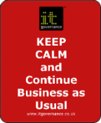 Keep Calm and Continue Business as Usual