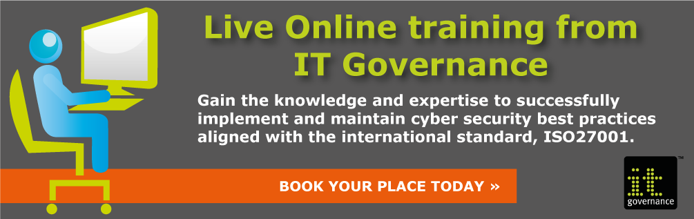 ISO 27001 Live Online training from IT Governance