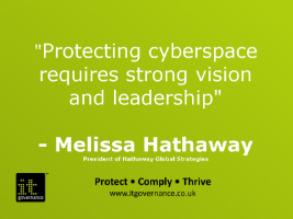 Protecting cyberspace requires strong vision and leadership