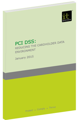 PCI DSS: Reducing the cardholder data environment