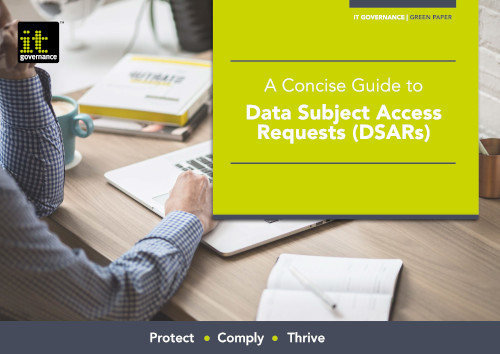 EU General Data Protection Regulation – A compliance guide.