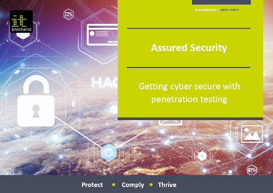 Assured Security – Getting cyber secure with penetration testing