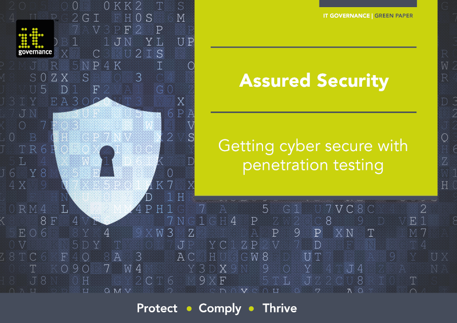 Getting cyber secure with penetration testing - free pdf download