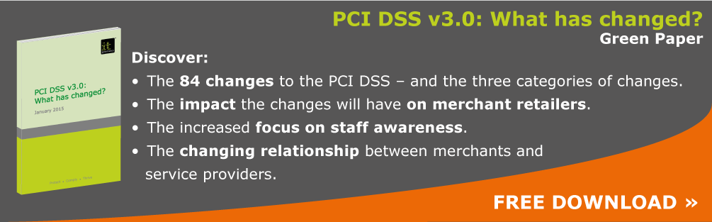 PCI DSS v3.0 - What has changed?