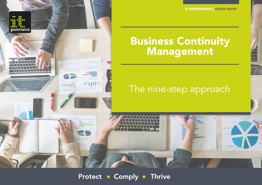 Business Continuity Management – The nine-step approach