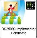 BS25999 Certified BCMS Lead Implementer Masterclass