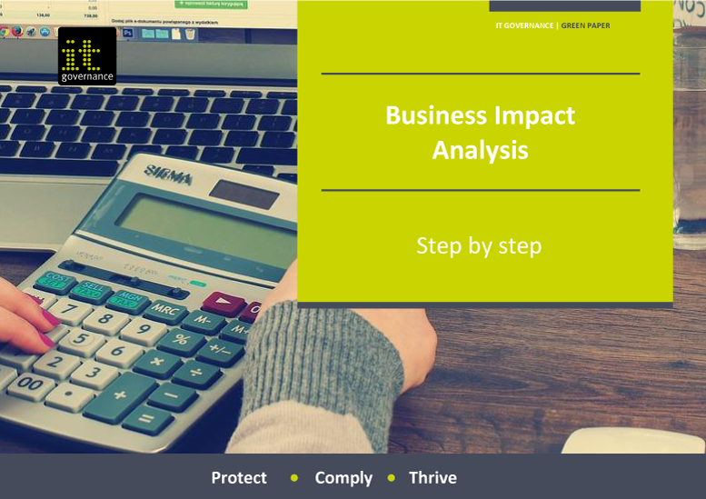 Business Impact Analysis – Step by step