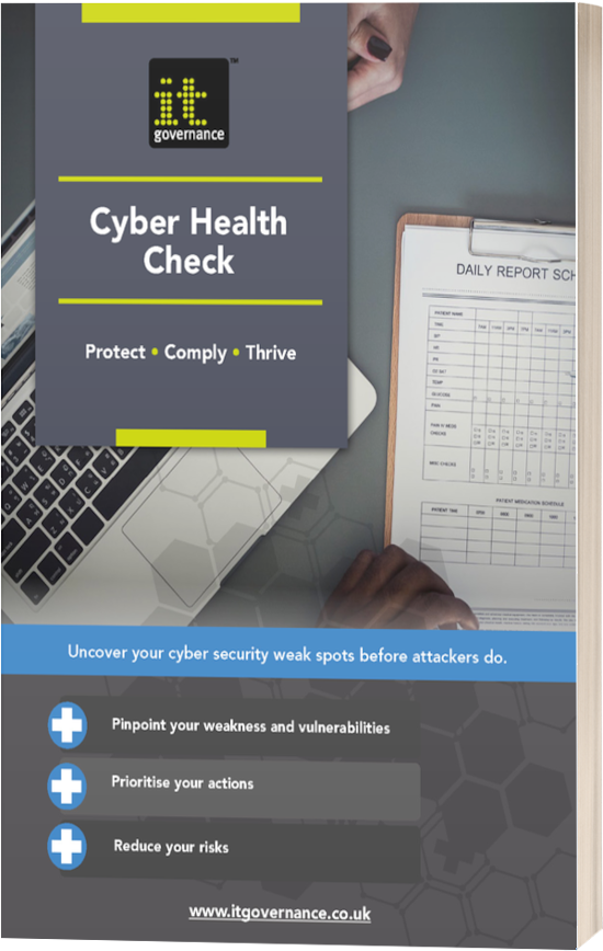 Cyber Health Check – Uncover your cyber security weak spots before attackers do
