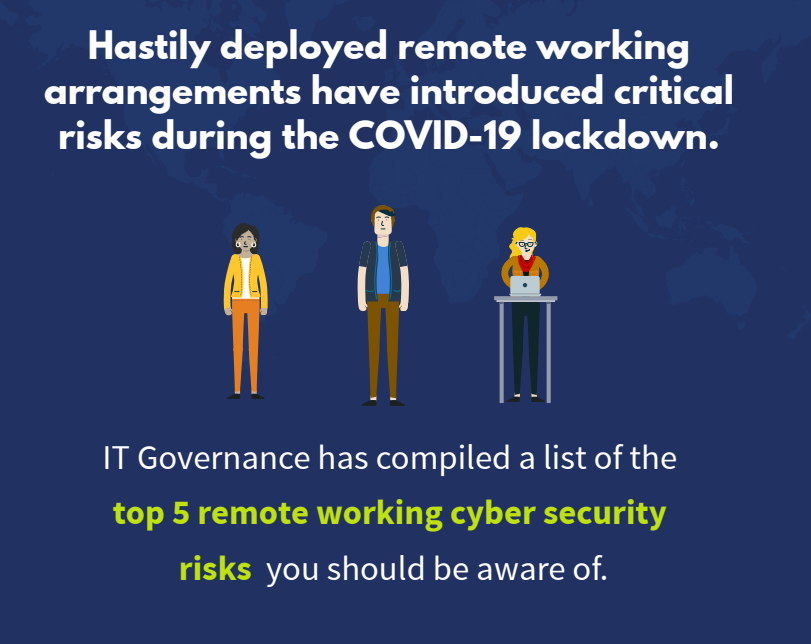 Top 5 remote working cyber security tips