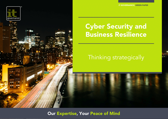 Free pdf download: Cyber Resilience - cyber security and business resilience